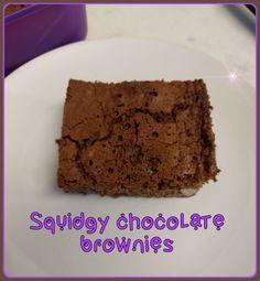 Squidgy brownies