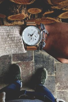 """modernambition: """" White Chrono MVMT Watch   BUY HERE Use Code: ModernAmbition for $10 Off """""""