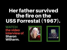 Her father survived the fire on the USS Forrestal Love Story, Interview, Survival, Father, Fire, Movie, Youtube, Summer, Pai
