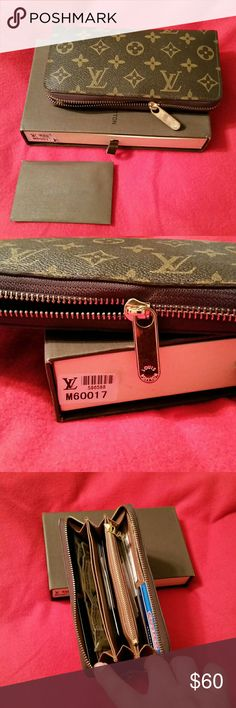 MARCH MADNESS SALE. $49High quality wallet MARCH MADNESS SALE $49 High quality zippered Monogram wallet. Bags Wallets