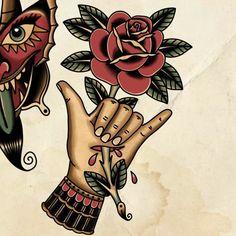 Tatuagem Old Scholl, Old School, Tattoo Ideas, Tattoos, Accessories, Tatuajes, Tattoo, Tattos, Tattoo Designs