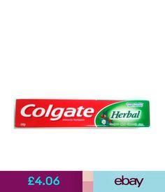 Toothpaste Colgate Herbal Toothpaste 100 Gm Anticavity Toothpaste Herbal Tooth Paste #ebay #Fashion