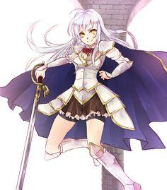 the devil is a part timer hero Silver Hair Girl, Devil Part Timer, Hataraku Maou Sama, Anime D, Otaku Mode, Maid Sama, Slice Of Life, Light Novel, Manga Girl