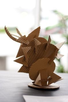 abstract cardboard sculpture - Google Search Cardboard Sculpture, Abstract Sculpture, Teaching Art, Paper, Crafts, Group, Google Search, Image, Paper Sculptures