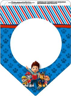 - Oh My Fiesta! in english 3rd Birthday Party For Boy, Happy Birthday Tag, Diy Birthday Banner, Paw Patrol Cake, Paw Patrol Party, Printable Banner, Party Printables, Banner Template, Imprimibles Paw Patrol