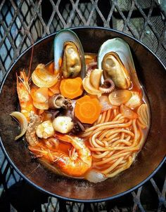 Recipe: Jjampong (Spicy Seafood Noodle Soup) - WSJ