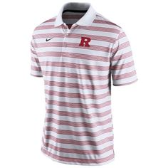 Need a golf polo for Dad? Check out our Nike Rutgers Scarlet Knights 2014 Preseason Football Dri-FIT Performance Polo #RutgersShop #RUAthletics #Mensapparel