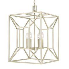 Shop for Capital Lighting Transitional 4-light Soft Gold Foyer Fixture. Get free…