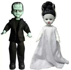 Frankenstein and The Bride of Frankenstein....