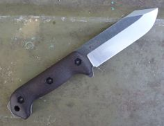 Becker knife tip profile changed