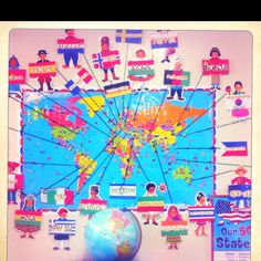 Hello in different languages around the world! Teaching Displays, Classroom Displays, Classroom Themes, Kids Around The World, Holidays Around The World, East School, Harmony Day, Culture Day, Celebration Around The World