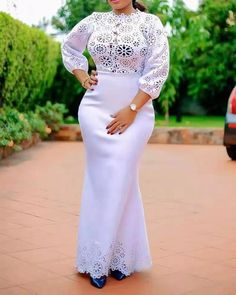 African Fashion Skirts, African Maxi Dresses, African Dresses For Women, African Clothes, Ankara Dress, African Attire, Lace Dress Styles, Lace Dresses, Woman Dresses