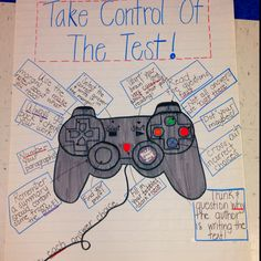 Take Control of the Test! (Inspired by a fellow pinner)