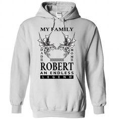 (DadMom) ROBERT An Endless Legend - #best friend shirt #school shirt. LIMITED TIME => https://www.sunfrog.com/Names/DadMom-ROBERT-An-Endless-Legend-isphrkvclf-White-33282597-Hoodie.html?68278