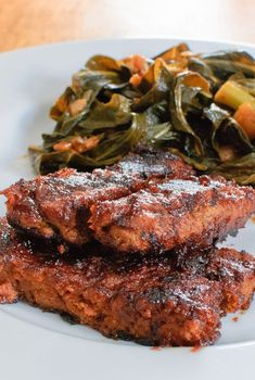 18 Jackfruit Recipes That Will Make You Forget All About Meat It looks like meat and tastes like meat, but it's definitely not meat. These jackfruit ribs are perfect for summer and beyond. Get the recipe from Baked In Veggie Recipes, Whole Food Recipes, Cooking Recipes, Healthy Recipes, Seitan Recipes, Vegan Soul Food Recipes, Easy Cauliflower Recipes, Healthy Food, Smoker Recipes