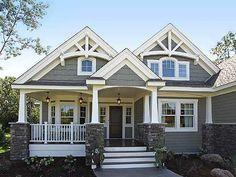 craftsman house gallery | … Gallery, Corner Lot, Northwest, Craftsman House Plans & Home Designs