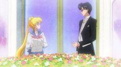 Sailor Moon Crystal Screen Shot  Usagi and Mamoru