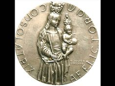 Virgin Mary Patroness of Luxemburg with Baby by CherishedSaints, $98.00