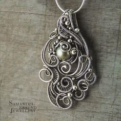 RESERVED For M Bragg Mermaid Amulet Cascade di SamBraundJewellery