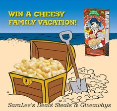 Pirate's Booty Mac & Cheese #Giveaway Ends 7/15 #Guest @s8r8l33