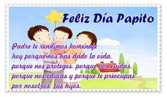 Frases dia del padre 2019 originales | El Banco de IMAGENES GRATIS Message For Father, Memes, Thank You Letter, Happy Fathers Day Images, Daddy To Be, Meme