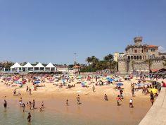 A praia , o mar, as esplanadas ....