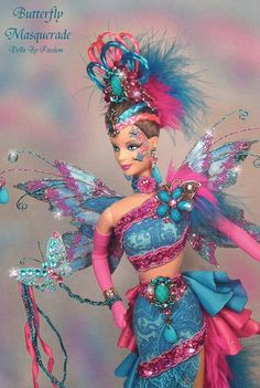 Butterfly Masquerade Barbie