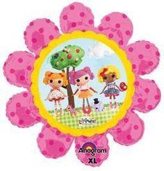 "29"" Lalaloopsy Flower Shape - Non-Pkg Foil Balloon"