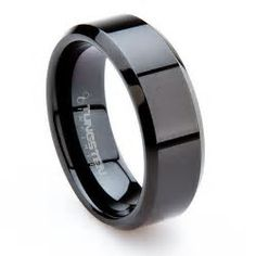 Image result for wedding band Tungsten