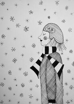 #january #illustration Art by Aastrom