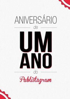 1 Ano de Publistagram, e com identidade novinha: www.publistagram.com