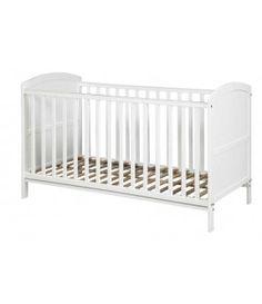 Siesta Cot Bed (White)