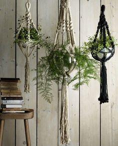 8 indoor hanging planters  - housebeautiful.co.uk                                                                                                                                                                                 More