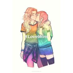 gay girls true love cute lesbian couple relationship romantic romance lgbt lgbtq kisses cuddles (How To Make Friends As A Teenager) Cute Lesbian Couples, Lesbian Art, Lesbian Pride, Lesbian Love, Gay Art, Anime Couples, Lesbian Humor, Lesbian Quotes, Citations Photo