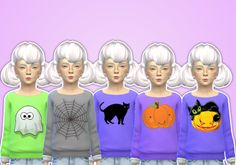 Sims 4 CC's - The Best: Sweater for Kids by Pastel-Sims