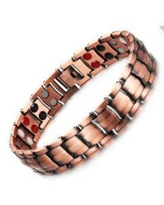 100%-pure-copper Pure Copper, All Brands, 100 Pure, The 100, Band, Sterling Silver, Bracelets, Unisex, Style