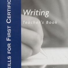 Teacher's Book Writing Malcolm Mann Steve Taylore-Knowles ~ MACMILLAN   DEVELOP YOUR WRITING SKILLS WARM-UP Aim: to encourage students to think about. http://slidehot.com/resources/skills-for-first-certificate-writing-tb.40067/