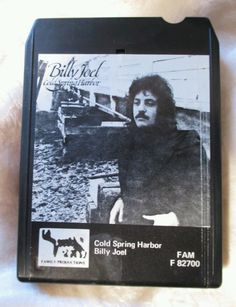 Billy Joel Cold Spring Harbor 8 Track Tape FAM F82700 Tested #BillyJoel #8track