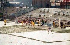 Huddersfield v Burnley December 1982 at Leeds Road. Huddersfield Town Fc, Leeds Road, Association Football, Football Stadiums, Burnley, Old Games, Manchester United, Nostalgia, The Unit