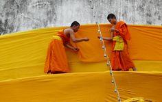 In Chiang Mai werden we door gastvrije monniken rondgeleid en kregen we een kijkje in hun leven op het complex. Meer over Chiang Mai op http://www.myworldisyours.nl/places/chiang-mai