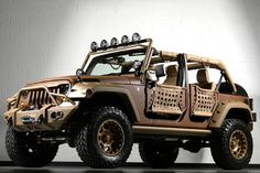 I like this setup! Color and size ratios are excellent. I would look for a roof rack that would fit over a soft top.