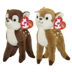 Brother and Sister fawns.  One for baby sis and the other for big brother.  TY Beanie Babies - HONEY & NUTMEG the Deer (Set of 2) by Ty, http://www.amazon.com/dp/B0044FQUBA/ref=cm_sw_r_pi_dp_pzbqrb0WMB9XQ