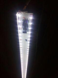 Светильник малого освещения из подручных средств.