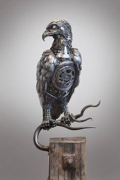 Scrap Metal Sculptures by Alan Williams