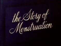 haven't watched yet, but when I found out Disney made an animated film about periods, I had to save it for later