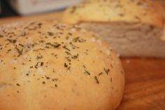 Romano's Macaroni Grill Rosemary Bread...  a Delicious and light addictive bread. So easy to make. even for beginners and can exchange or add any additional or different seasonings that you prefer!