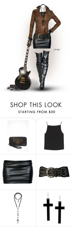 """A Girl and Her Gibson"" by rockreborn ❤ liked on Polyvore featuring GUESS, T By Alexander Wang, ESPRIT, Ann Demeulemeester, Angel Ranch, Dolce&Gabbana, by Corrie Williamson and Forever New"