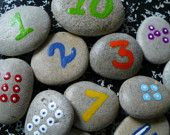 Counting stones- LOVE these!