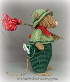 ♥Amigurumi Patterns By Just Made With Love by Antoinette Ferdy Mika Mouse Crochet Mouse, Crochet Amigurumi, Knit Or Crochet, Amigurumi Patterns, Crochet Crafts, Crochet Dolls, Crochet Projects, Knitting Patterns, Crochet Patterns