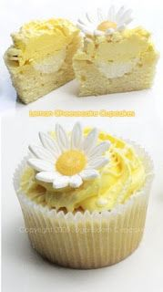 Lemon Cheesecake Cupcakes... Definitely want these at my wedding
